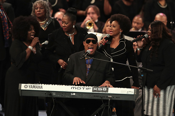 Funeral「Soul Music Icon Aretha Franklin Honored During Her Funeral By Musicians And Dignitaries」:写真・画像(8)[壁紙.com]