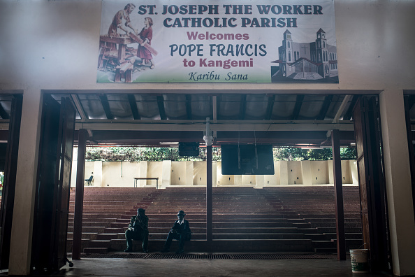 Nichole Sobecki「Final Preparations Are Made For The Arrival Of Pope Francis To Kenya」:写真・画像(18)[壁紙.com]