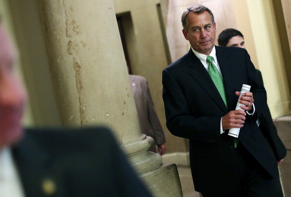 Win McNamee「House Leader John Boehner Addresses House On Fiscal Cliff」:写真・画像(0)[壁紙.com]