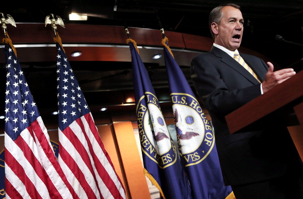 Win McNamee「John Boehner Holds Briefing On Capitol Hill」:写真・画像(3)[壁紙.com]