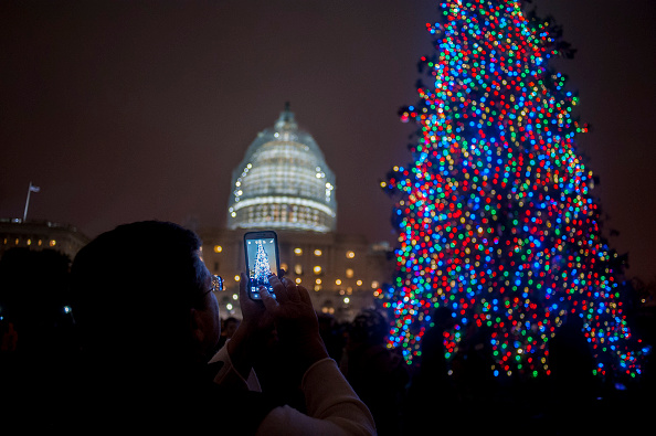 Light Switch「Capitol Hill Christmas Tree Lighting Ceremony Attended By Lawmakers」:写真・画像(7)[壁紙.com]