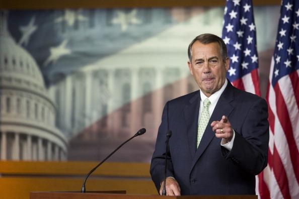 Drew Angerer「Speaker Boehner Holds His Weekly News Conference」:写真・画像(7)[壁紙.com]