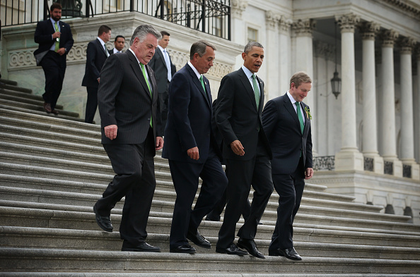 Politician「Irish Prime Minister Enda Kenny Attends St. Patrick's Day Event On Capitol Hill」:写真・画像(3)[壁紙.com]