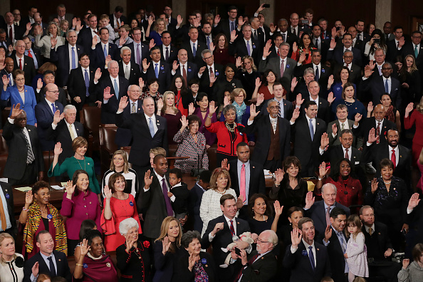 House Of Representatives「House Of Representatives Convenes For First Session Of 2019 To Elect Nancy Pelosi (D-CA) As Speaker Of The House」:写真・画像(13)[壁紙.com]