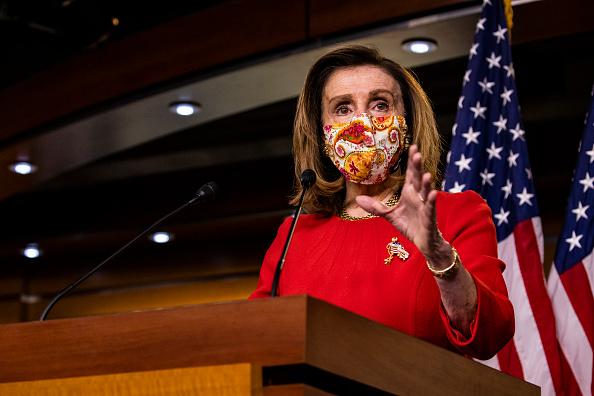 Capitol Hill「Speaker Pelosi Speaks To Media In Weekly News Conference」:写真・画像(19)[壁紙.com]
