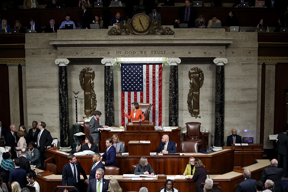 United States Congress「House Votes To Formalize Impeachment Inquiry」:写真・画像(18)[壁紙.com]