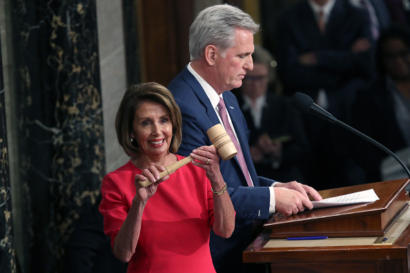 Speaker of the House「House Of Representatives Convenes For First Session Of 2019 To Elect Nancy Pelosi (D-CA) As Speaker Of The House」:写真・画像(1)[壁紙.com]