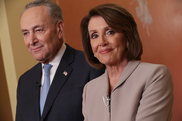 Portrait「Democratic Leadership House Speaker Nancy Pelosi And Sen. Chuck Schumer Issue Response To President's Border Security Address」:写真・画像(16)[壁紙.com]