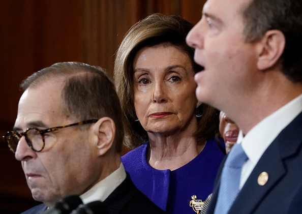 Win McNamee「House Investigative Committee Chairs Hold Press Conference To Lay Out Articles Of Impeachment」:写真・画像(13)[壁紙.com]