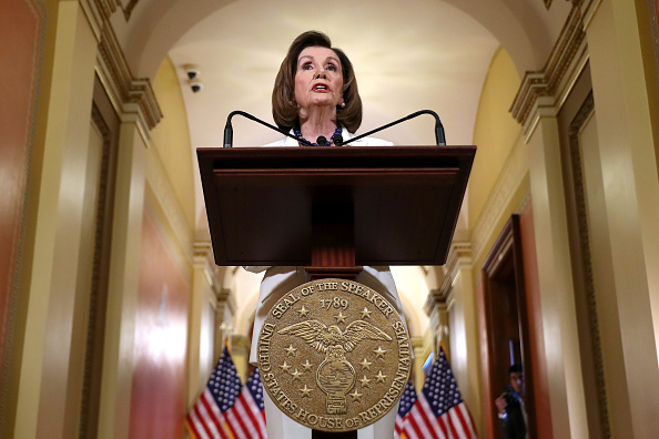 The Way Forward「House Leader Nancy Pelosi Speaks To Press On The Status Of The Impeachment Inquiry」:写真・画像(2)[壁紙.com]
