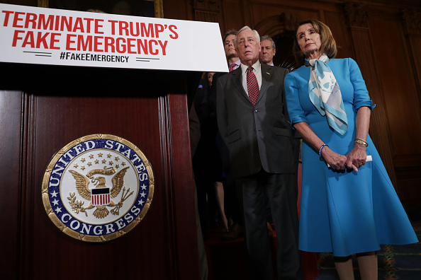 House Of Representatives「Speaker Nancy Pelosi Holds News Conference On Resolution To Terminate President Trump's Emergency Declaration」:写真・画像(16)[壁紙.com]