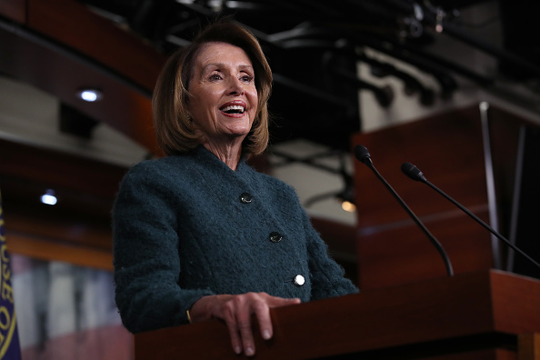 Win McNamee「House Speaker Nancy Pelosi Holds Her Weekly News Conference On Capitol Hill」:写真・画像(11)[壁紙.com]