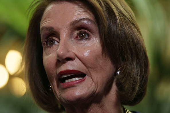 Speech「House Speaker Nancy Pelosi Meets With House Democrats Over Growing Calls For Impeachment」:写真・画像(16)[壁紙.com]
