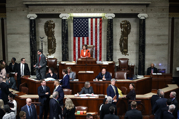 Legal System「House Votes To Formalize Impeachment Inquiry」:写真・画像(11)[壁紙.com]