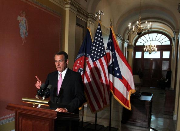 Alex Wong「House Speaker Boehner Discusses The Budget Impasse」:写真・画像(2)[壁紙.com]