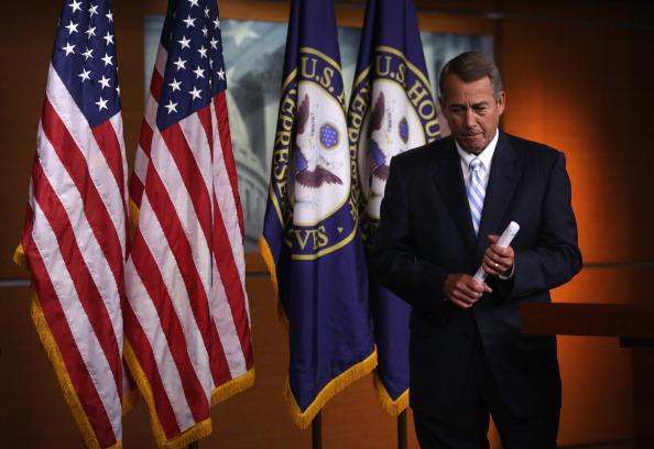 Alex Wong「John Boehner Holds Media Briefing At US Capitol」:写真・画像(0)[壁紙.com]