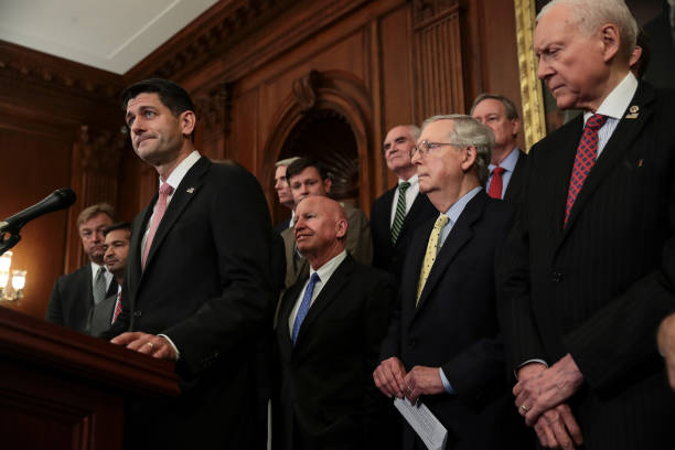 House And Senate Republican Leaders Release Tax Reform Plan:ニュース(壁紙.com)