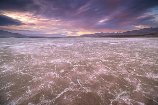 Racetrack Playa「Death Valley」:スマホ壁紙(4)