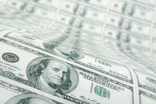 American One Hundred Dollar Bill「Sheet of $100 Bills」:スマホ壁紙(11)