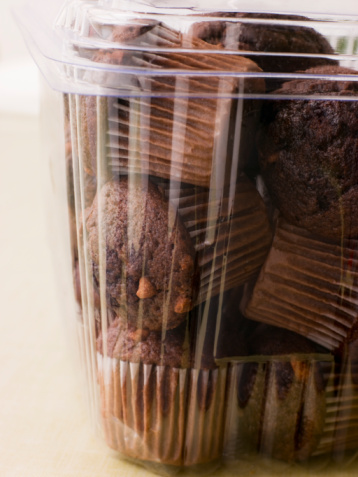 Milk Chocolate「Double Chocolate Chip Muffins In A Plastic Box」:スマホ壁紙(14)