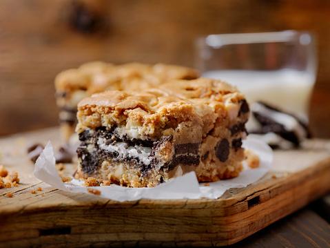 Milk Chocolate「Double Chocolate, Cookie Stuffed Brownies」:スマホ壁紙(9)