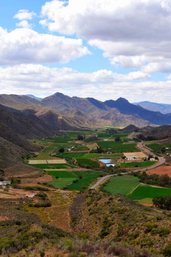 Koo Valley「Koo Valley looking towards Montague, Little Karoo, Western Cape, South Africa」:スマホ壁紙(4)