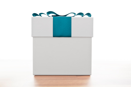 Gift「Gift box with blue ribbon」:スマホ壁紙(16)