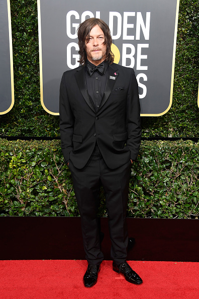 Norman Reedus「75th Annual Golden Globe Awards - Arrivals」:写真・画像(19)[壁紙.com]