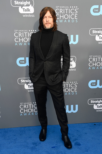 Norman Reedus「The 23rd Annual Critics' Choice Awards - Arrivals」:写真・画像(15)[壁紙.com]