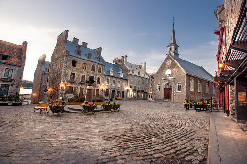 UNESCO World Heritage Site「Petit Champlain District of Old Quebec City」:スマホ壁紙(4)