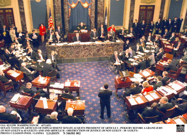 United States Senate「Clinton Impeachment Trial」:写真・画像(11)[壁紙.com]