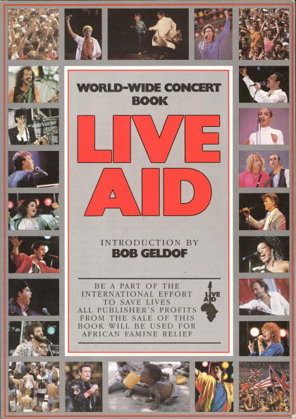 Charity and Relief Work「Live Aid Concert Book Cover」:写真・画像(16)[壁紙.com]