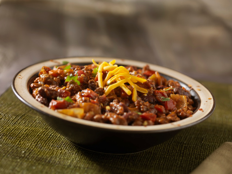 Chili Con Carne「Chili with Beans and Cheddar Cheese」:スマホ壁紙(2)