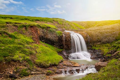 California State Route 1「Icelandic Waterfall」:スマホ壁紙(15)