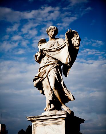 Roman「Angel with the Sudarium」:スマホ壁紙(6)