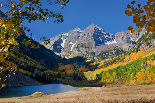 Maroon Bells「Maroon Bells in Fall」:スマホ壁紙(12)