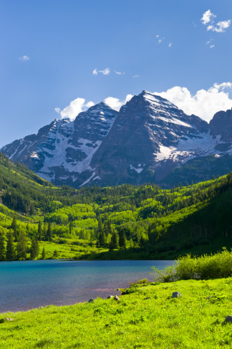 Maroon Bells「Maroon Bells in Summer Aspen Colorado」:スマホ壁紙(13)