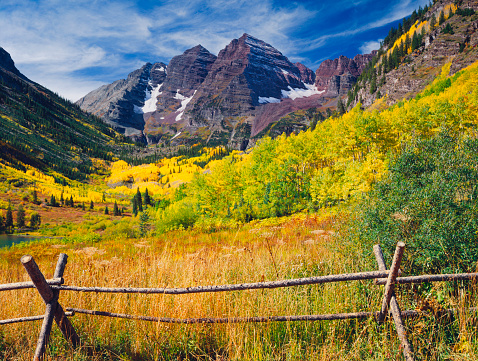 Aspen Tree「Maroon Bells With Autumn Aspen Trees」:スマホ壁紙(0)