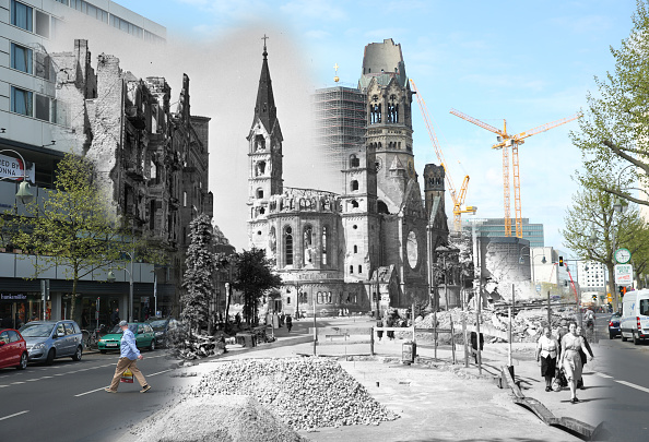 Fred Ramage「70 Years Since WW2: Overlay Images Show Then And Today」:写真・画像(14)[壁紙.com]
