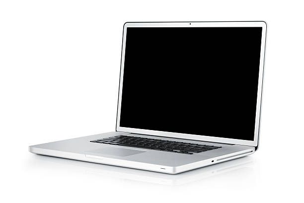 Laptop isolated on white;  with TS-E lens:スマホ壁紙(壁紙.com)