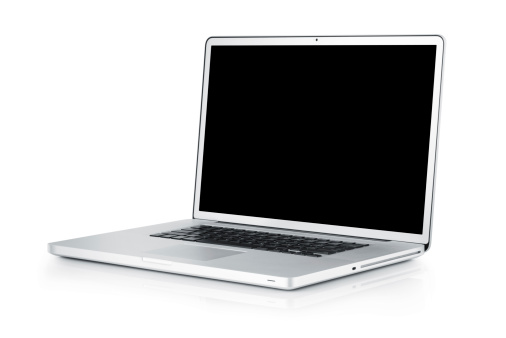 Portability「Laptop isolated on white;  with TS-E lens」:スマホ壁紙(12)