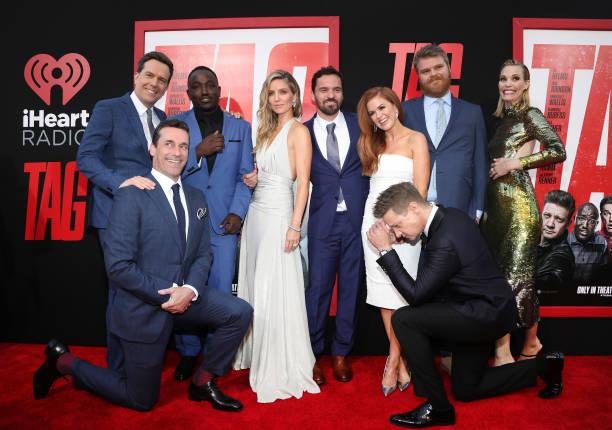 "Premiere Of Warner Bros. Pictures And New Line Cinema's ""Tag"" - Red Carpet:ニュース(壁紙.com)"
