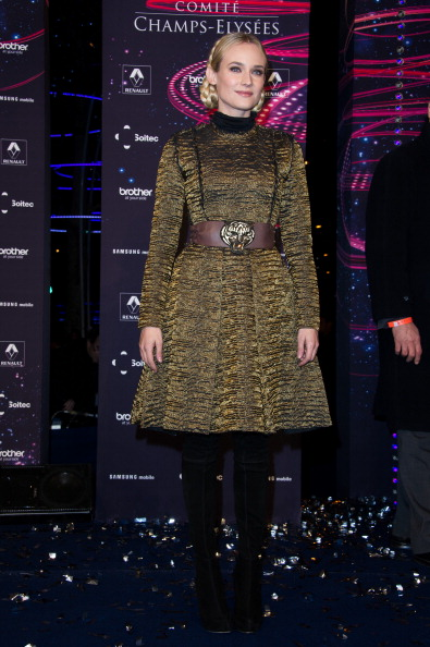 Cocktail Dress「Diane Kruger Launches Christmas Champs-Elysees Illuminations」:写真・画像(1)[壁紙.com]