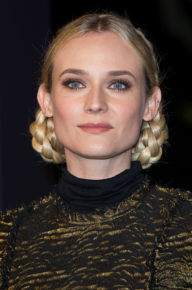 Braided Hair「Diane Kruger Launches Christmas Champs-Elysees Illuminations」:写真・画像(11)[壁紙.com]