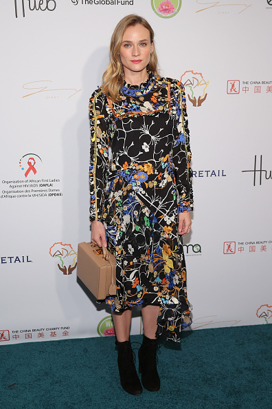 Floral Pattern Dress「Fashion 4 Development's 5th Annual Official First Ladies Luncheon」:写真・画像(12)[壁紙.com]