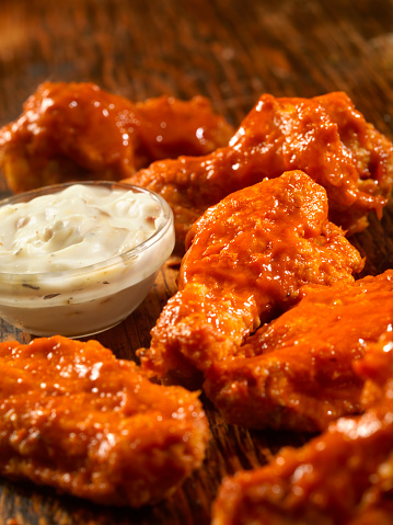 Chicken Wing「Buffalo Hot Chicken Wings」:スマホ壁紙(6)