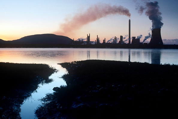 Environmental Damage「River Neath and Chemical Plant, Baglan, South Wales」:写真・画像(16)[壁紙.com]