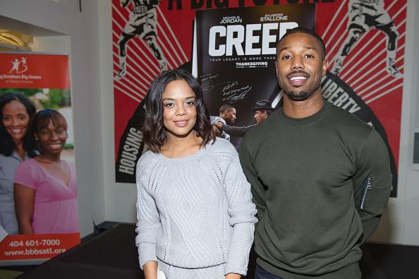Ryan Thompson「'Creed' Stars Michael B. Jordan And Tessa Thompson Join Writer/Director Ryan Coogler For A Big Brothers Big Sisters Of Metro Atlanta Mural Unveiling」:写真・画像(8)[壁紙.com]