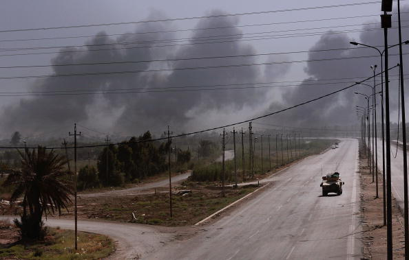 Baghdad「US Troops Call In Airstrikes Against Insurgent Targets」:写真・画像(12)[壁紙.com]
