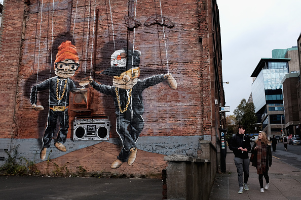 Mural「Street Art Highlighted For Glasgow's First City Centre Mural Trail」:写真・画像(19)[壁紙.com]